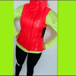 New Neon Pink  asymmetrical Vest